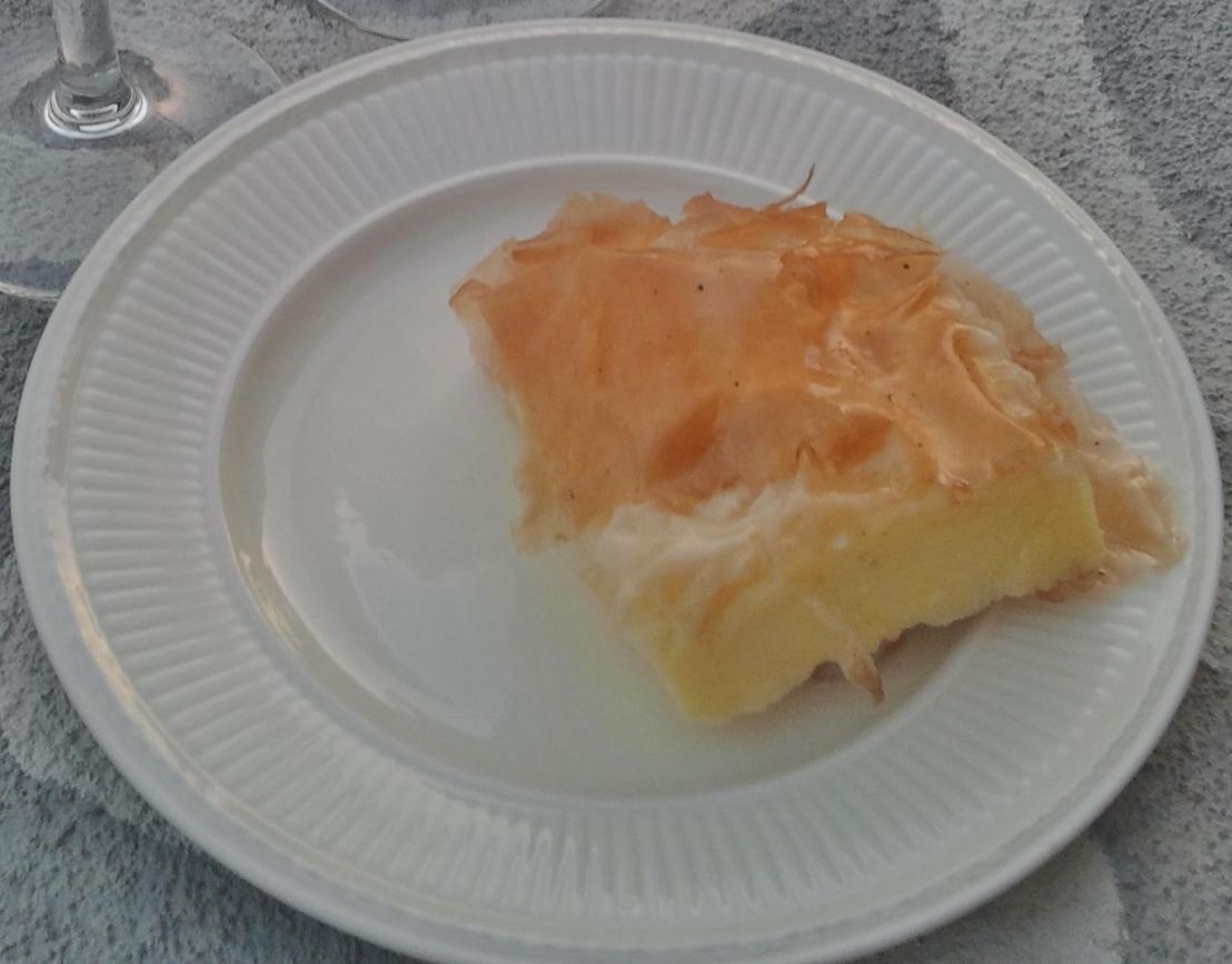 Galaktoboureko, traditioneel zoet gebak in Griekenland