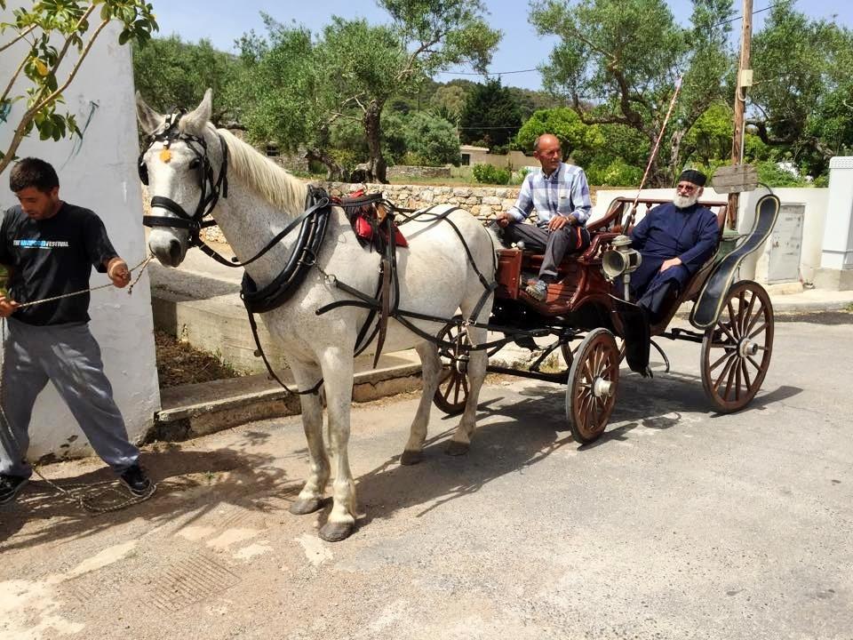 Paard en wagen of een E-bike?