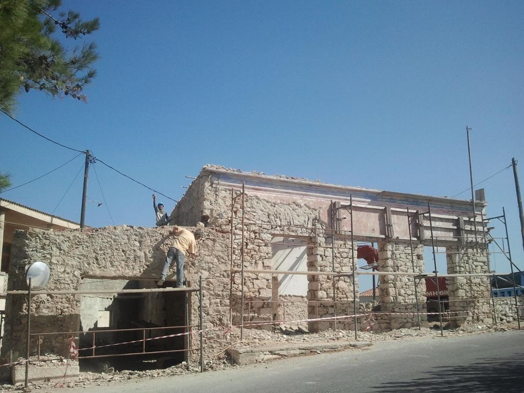 Renovatie project Aroniadika, Kythira