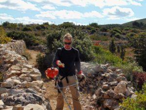 Wandeling rond Aroniadika