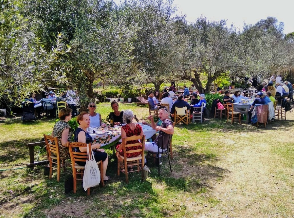 Grieks Pasen, StilteWandelen en Mindfulness